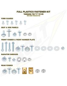 Bolt Plastic Fastener Kit Yamaha YZ85 02-17