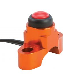 Fly Racing Spacesaver Perch Mount Kill Switch Orange