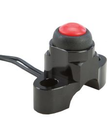 Fly Racing Spacesaver Perch Mount Kill Switch Black