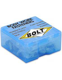 Bolt Plastic Fastener Kit Yamaha YZF250 10-13