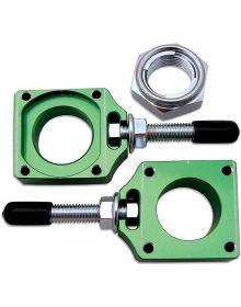 Bolt Chain Adjuster Block Green KXF250 17-19 KXF45