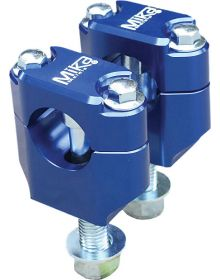 Mika Metals Handlebar Mount Universal 1-1/8in Blue