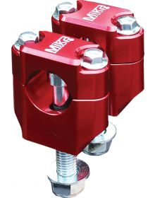 Mika Metals Handlebar Mount Universal 1-1/8in Red