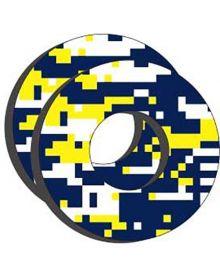 Factory Effex Moto Grip Donuts Husqvarna blue/yellow