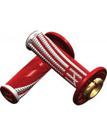 ODI Emig V2 Pro Lock On Grips Red/White