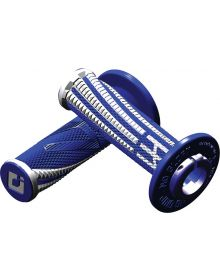 ODI Emig V2 Pro Lock On Grips Blue/White