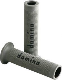 Domino Moto GP 7/8 Street Grips Grey/Black
