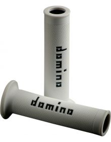 Domino Moto GP 7/8 Street Grips White/Black