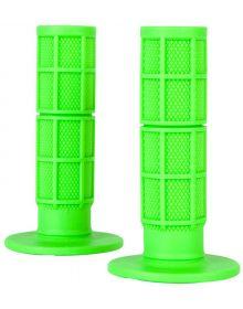 O'Neal Waffle MX Grips Neon Green