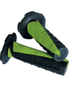 Scott Deuce MX Grips Black/Green
