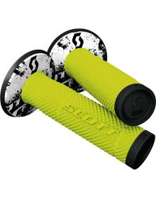 Scott SX-2 Grips Neon Yellow/Black