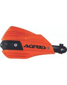 Acerbis X-Factor Handguards Orange/Black
