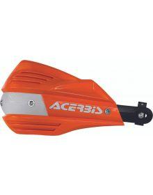 Acerbis X-Factor Handguards Orange/White