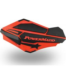 Powermadd Sentinal Handguard Polaris Red