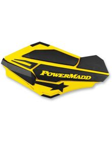 Powermadd Sentinal Handguard Suzuki Yellow