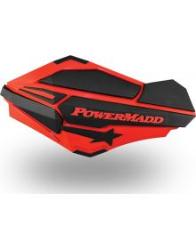 Powermadd Sentinal Handguard Honda Red