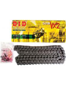 DID 520 Pro-Street VX2 Series X-Ring Chain 130 Links Black
