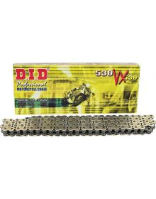 DID 530 Pro-Street VX Series X-Ring Chain 110 Links Gold