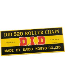 DID Standard Chain 520-130 Black