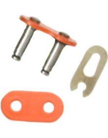 Factory Spec Chain 520NZ Master Link Orange