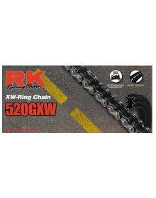 RK GXW Chain 530GXW-140 Gold