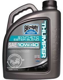 Bel-Ray Works Thumper Racing Synthetic Ester 4T Engine Oil 10w40 4 Liter