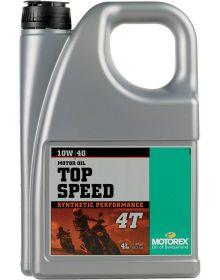Motorex Top Speed 4T 10W/40 Oil 4 Liter