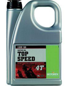 Motorex Top Speed 4T 15W/50 Oil 4 Liter