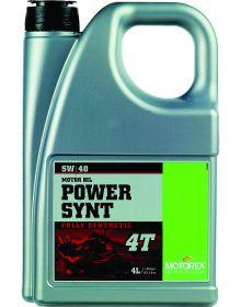Motorex Power Synthetic 4T Oil 5W/40 4 Liter