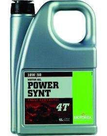 Motorex Power Synthetic 4T Oil 10W/50 4 Liter