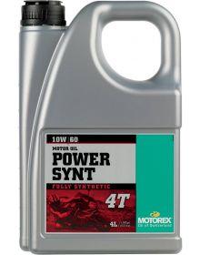 Motorex Power Synthetic 4T Oil 10W/60 4 Liter
