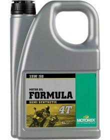 Motorex Formula 4T 15W/50 Oil 4 Liter
