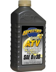 Spectro Golden 4-Stroke ATV/UTV Snowmobile Oil 0W30 1 Liter