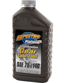 Spectro Platinum Transmission Gear Lubricant GL-1 75w140 1 Liter