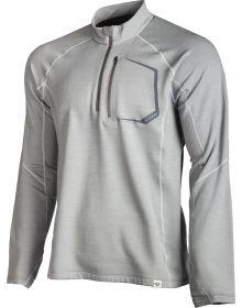 Klim 2019 Teton Merino Wool 1/4 Zip Shirt Gray