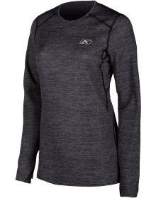 Klim Solstice 1.0 Womens Shirt Black Heather