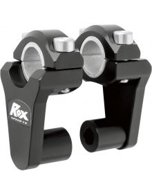 Rox Pivoting Handlebar Riser 2In Black