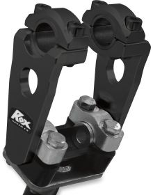 Rox Pivoting Handlebar Riser 3.5In Black
