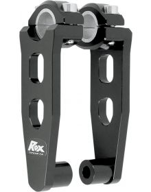 Rox Pivoting Handlebar Riser 5In Black