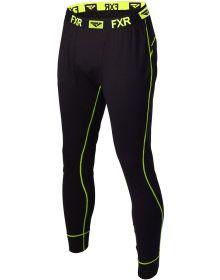 FXR Vapour 20% Merino Pants Black/Hi Vis