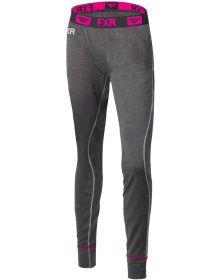 FXR Vapour 50% Merino Womens Pants Char/Fuchsia