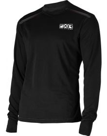 FXR Tenacious Base Layer Shirt 75% Merino Wool Black