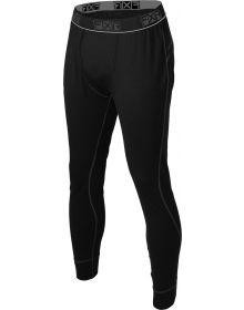 FXR Tenacious Base Layer Pant 75% Merino Wool Black