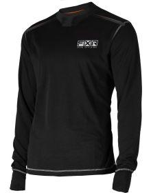 FXR Endeavor Base Layer Shirt 20% Merino Wool Black
