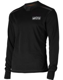 FXR Vapour Mid Layer Shirt 20% Merino Wool Black