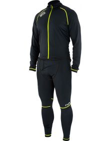 FXR Atmosphere 1-PC Monosuit 20% Merino Wool Black/Grey
