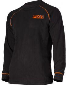 FXR Pyro Thermal 20% Merino Wool Longsleeve Shirt Black/Orange