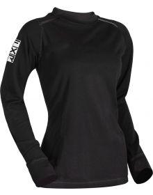 FXR Tenacious 75% Merino Wool Womens Longsleeve Shirt Black
