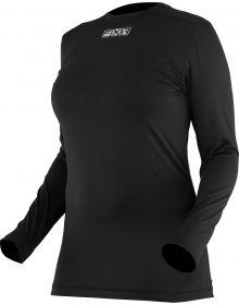 FXR Atmosphere Womens Longsleeve Shirt Black Ops