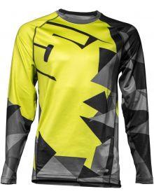 509 FZN LVL 1 Base Layer Shirt Lime